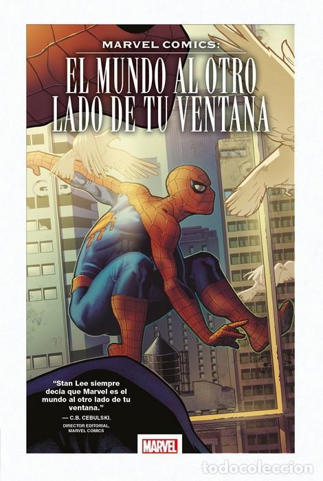 EL MUNDO AL OTRO LADO DE TU VENTANA - PANINI - CARTONE - MUY BUEN ESTADO - OFM15 (Tebeos y Comics - Panini - Marvel Comic)