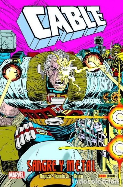 CABLE SANGRE Y METAL - PANINI - CARTONE - MUY BUEN ESTADO - OFM15 (Tebeos y Comics - Panini - Marvel Comic)