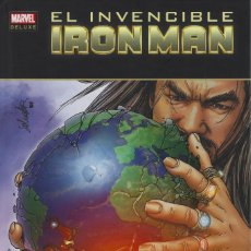 Comics: EL INVENCIBLE IRON MAN 8. EL FUTURO. MARVEL DELUXE. PANINI. TAPA DURA. Lote 216533910