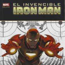 Comics: EL INVENCIBLE IRON MAN 2. EL MAS BUSCADO DEL MUNDO. MARVEL DELUXE. PANINI. TAPA DURA. Lote 216533961