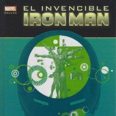 Comics: EL INVENCIBLE IRON MAN 3. STARK DESMANTELADO. MARVEL DELUXE. PANINI. TAPA DURA. Lote 216534137