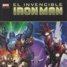 Comics: EL INVENCIBLE IRON MAN 4. STARK RESILIENTE. MARVEL DELUXE. PANINI. TAPA DURA. Lote 216534206