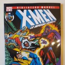 Cómics: BIBLIOTECA MARVEL X-MEN Nº 3 - TOMO MARVEL PANINI. Lote 216687830