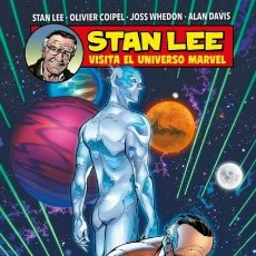 Cómics: STAN LEE VISITA EL UNIVERSO MARVEL - PANINI - CARTONE - IMPECABLE - OFM15. Lote 216700523