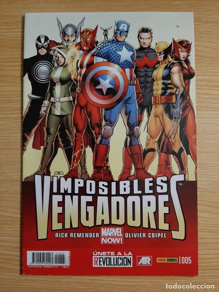 IMPOSIBLES VENGADORES, 5 - PANINI - MARVEL (Tebeos y Comics - Panini - Marvel Comic)