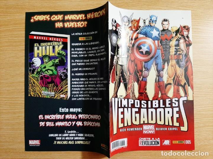 Cómics: IMPOSIBLES VENGADORES, 5 - Panini - Marvel - Foto 3 - 216848870