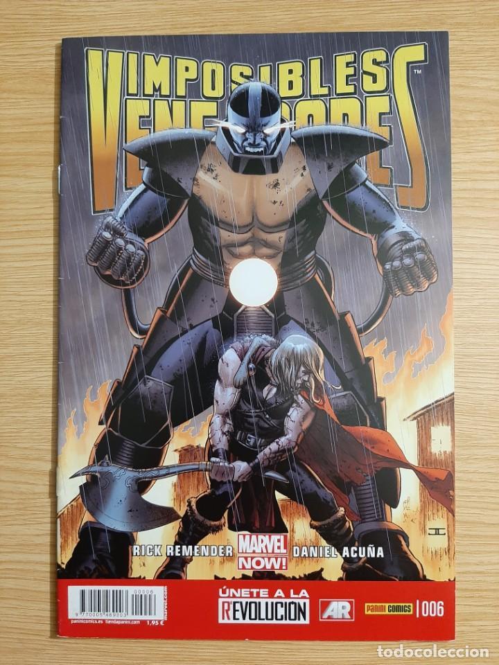 IMPOSIBLES VENGADORES, 6 - PANINI - MARVEL (Tebeos y Comics - Panini - Marvel Comic)