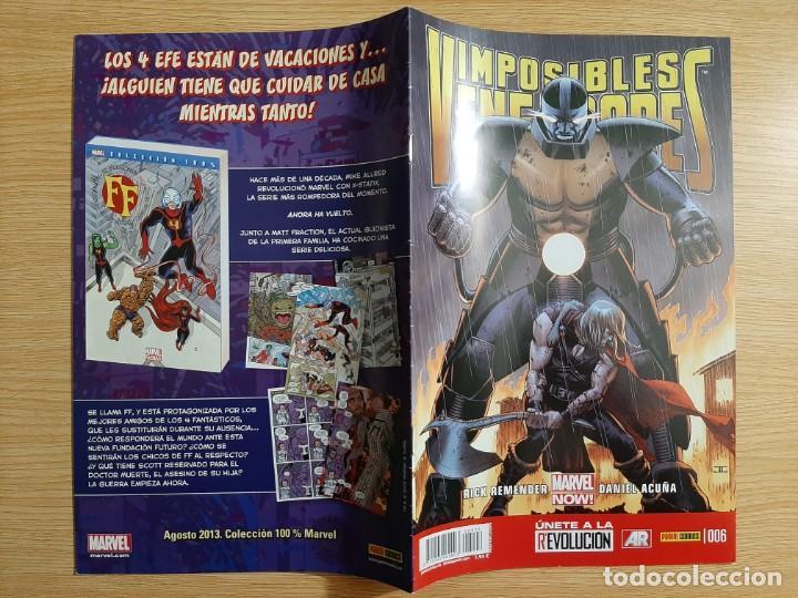 Cómics: IMPOSIBLES VENGADORES, 6 - Panini - Marvel - Foto 3 - 216849020