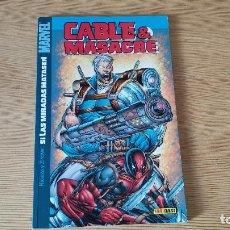 Cómics: CABLE & MASACRE: SI LAS MIRADAS MATASEN, DE PANINI COMICS (FABIAN NICIEZA & PATRICK ZIRCHER). Lote 216852671