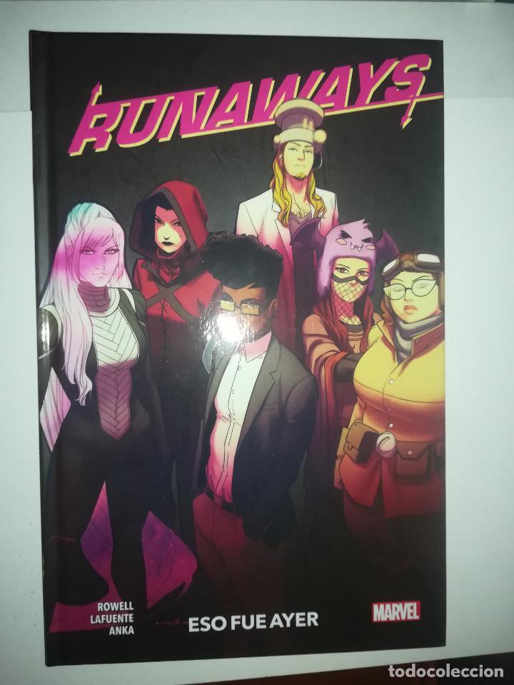 RUNAWAYS #3 ESO FUE AYER (100% MARVEL HC) (Tebeos y Comics - Panini - Marvel Comic)