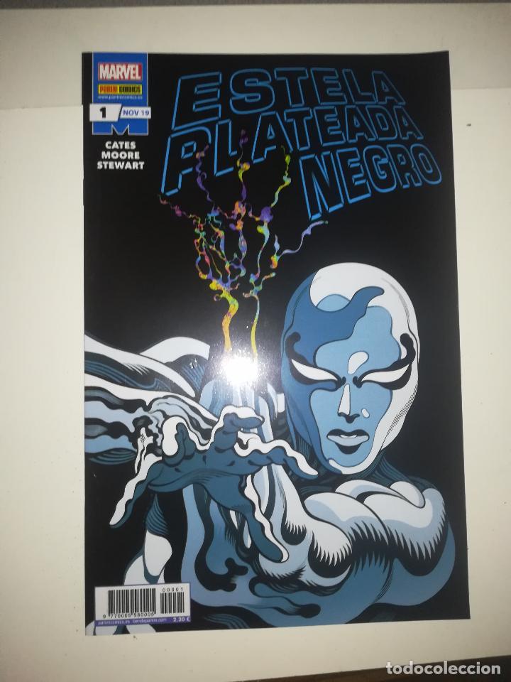 ESTELA PLATEADA NEGRO #1 (Tebeos y Comics - Panini - Marvel Comic)