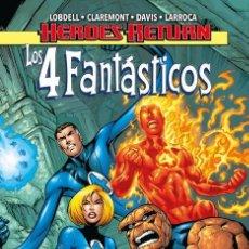 Cómics: LOS 4 FANTASTICOS 01. VIVE LE FANTASTIQUE!. Lote 217128900