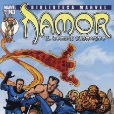 Comics: BIBLIOTECA MARVEL NAMOR. COLECCION COMPLETA: 15 TOMOS. PANINI. MUY BUEN ESTADO.. Lote 241481970