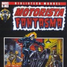 Fumetti: BIBLIOTECA MARVEL MOTORISTA FANTASMA OBRA COMPLETA: 3 TOMOS PANINI MUY BUEN ESTADO.. Lote 217140975