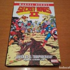 Cómics: MARVEL HEROES 53 SECRET WARS 2 II QUIÉN ES EL TODOPODEROSO ENVIO ECONOMICO NO FORUM CON SPIDERMAN. Lote 217177216