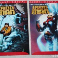Cómics: ULTIMATE IRON MAN NºS 1 Y 2 ( DE SCOTT CARD & KUBERT ) SAGA COMPLETA. Lote 217566276