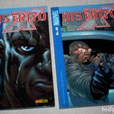 Cómics: DISTRITO X (DE DAVID HINE.), TOMO Nº 01: SR. M + TOMO Nº 02: SUBTERRÁNEO ( COMPLETA). Lote 217566692