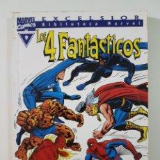 Comics: BIBLIOTECA MARVEL 4 FANTASTICOS Nº 9 - TOMO MARVEL FORUM. Lote 217582621