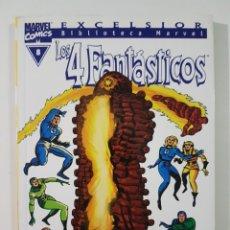 Comics: BIBLIOTECA MARVEL 4 FANTASTICOS Nº 8 - TOMO MARVEL FORUM. Lote 217582622