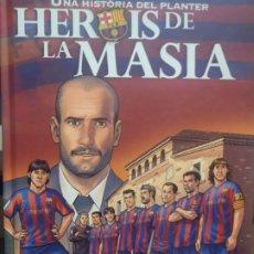 Cómics: HEROIS DE LA MASIA - UNA HISTORIA DEL PLANTER - PANINI - 2010 - TEXTO EN CATALAN. Lote 217651170