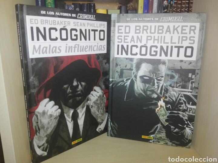 INCÓGNITO COMPLETA PANINI (Tebeos y Comics - Panini - Otros)