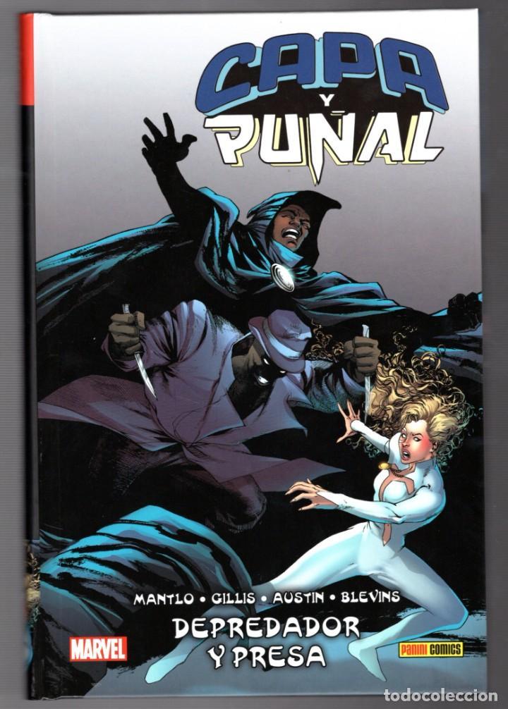 CAPA Y PUÑAL : DEPREDADOR Y PRESA - PANINI / 100% MARVEL HC / TAPA DURA (Tebeos y Comics - Panini - Marvel Comic)