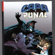 Cómics: CAPA Y PUÑAL : DEPREDADOR Y PRESA - PANINI / 100% MARVEL HC / TAPA DURA. Lote 217087473