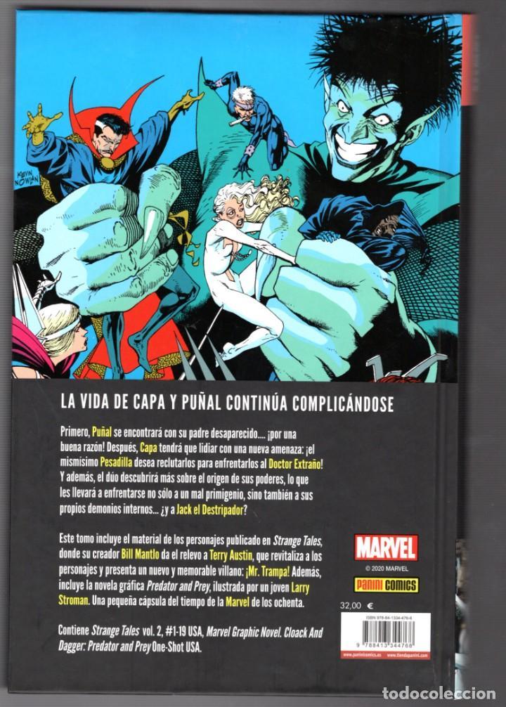 Cómics: CAPA Y PUÑAL : DEPREDADOR Y PRESA - PANINI / 100% MARVEL HC / TAPA DURA - Foto 2 - 217087473