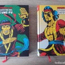 Cómics: SHANG CHI 1 Y 2 MARVEL LÍMITED EDITION MUY BUEN ESTADO. Lote 218210363