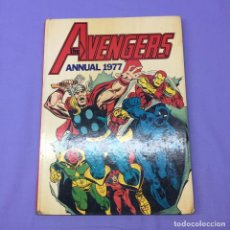 Cómics: THE AVENGERS ANUAL 1977 -- EDITOR: JIM SALICRUP -- GREAT BRITAIN. Lote 218399442
