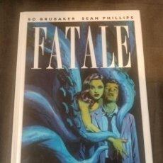 Cómics: FATALE 1. LA MUERTE ME PERSIGUE. Lote 218416026