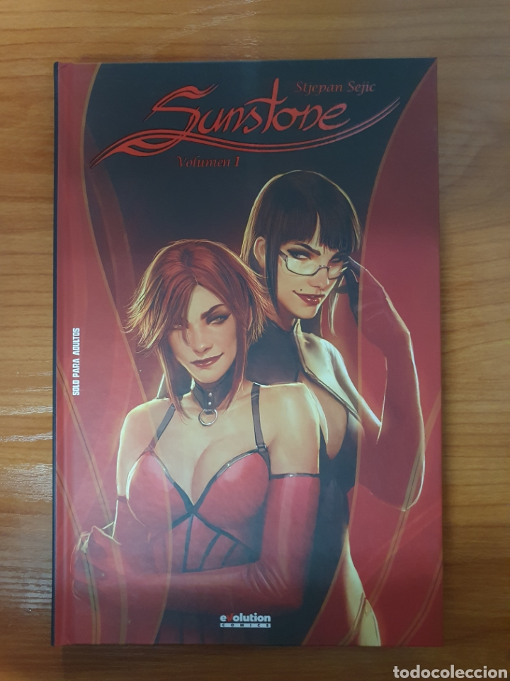 Cómics: Lote 5 Tomos Sunstone de Stjepan Sejic (Completa) Evolution Comics Panini - Foto 2 - 218477933