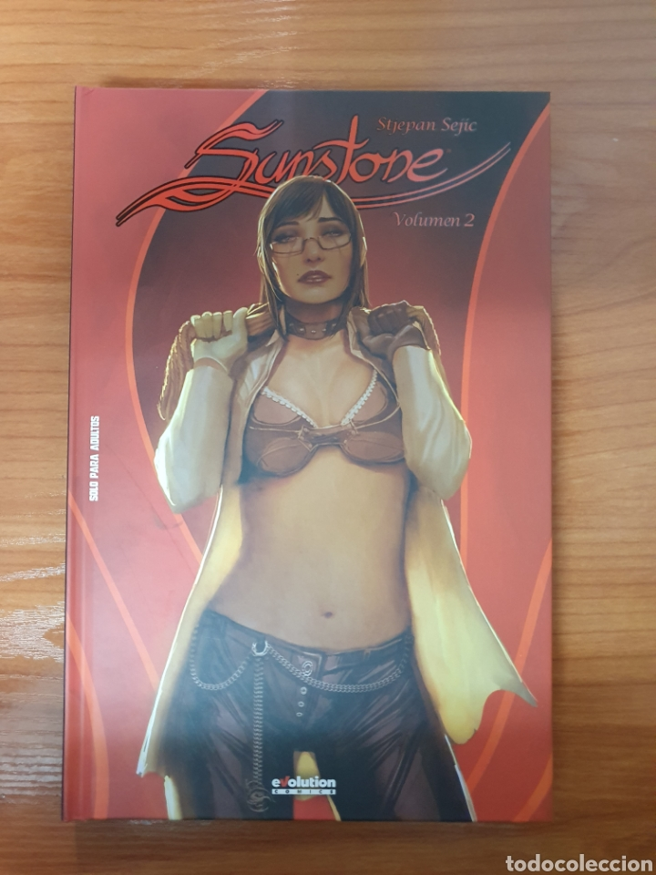 Cómics: Lote 5 Tomos Sunstone de Stjepan Sejic (Completa) Evolution Comics Panini - Foto 4 - 218477933