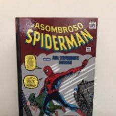 Cómics: MARVEL GOLD - EL ASOMBROSO SPIDERMAN 1: ¡PODER Y RESPONSABILIDAD! - TOMO OMNIGOLD - PANINI COMICS. Lote 218492022