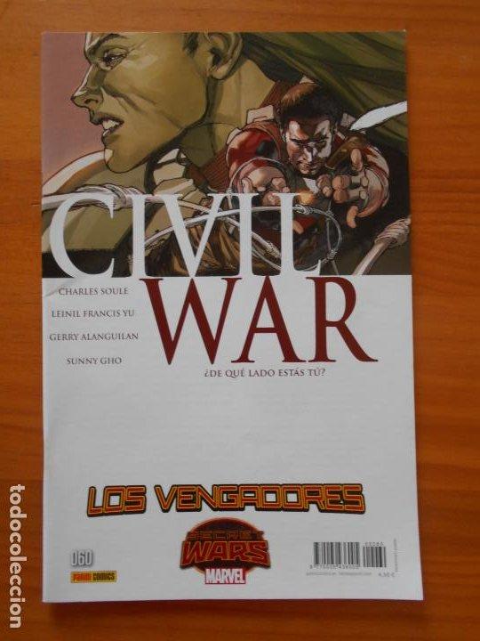 LOS VENGADORES VOL. 4 Nº 60 - CIVIL WAR - MARVEL - PANINI (Z) (Tebeos y Comics - Panini - Marvel Comic)