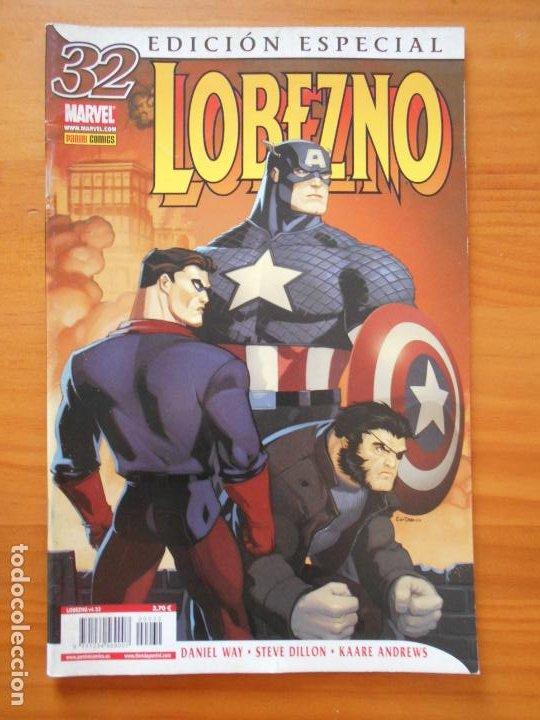 LOBEZNO VOLUMEN 4 Nº 32 - EDICION ESPECIAL - MARVEL - PANINI (Z) (Tebeos y Comics - Panini - Marvel Comic)