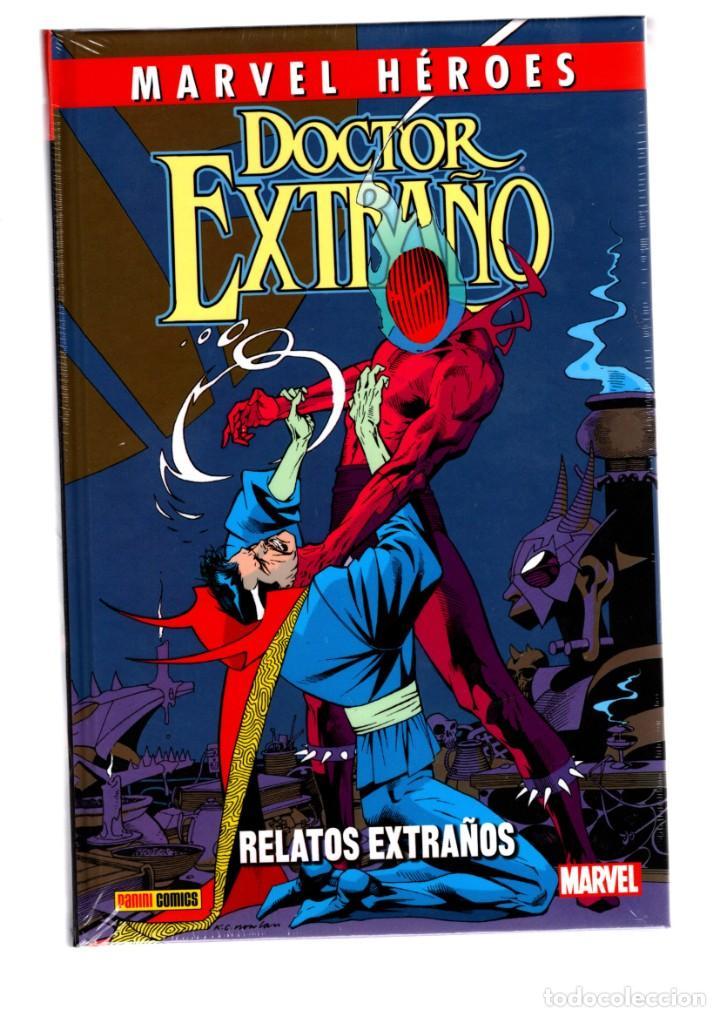 DOCTOR EXTRAÑO : RELATOS EXTRAÑOS - PANINI / MARVEL HÉROES 100 / NUEVO Y PRECINTADO (Tebeos y Comics - Panini - Marvel Comic)
