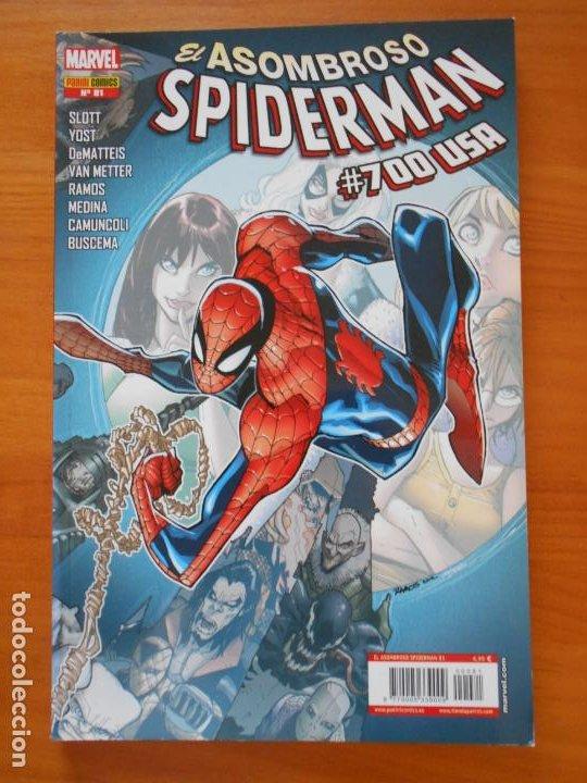 EL ASOMBROSO SPIDERMAN Nº 81 - VOLUMEN 7 - MARVEL - PANINI (U2) (Tebeos y Comics - Panini - Marvel Comic)