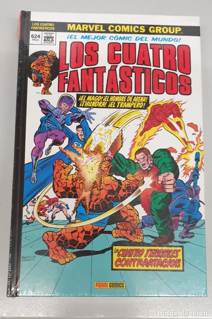 LOS CUATRO FANTASTICOS Nº 7 : LOS CUATRO TERRIBLES CONTRAATACAN ! MARVEL GOLD - PANINI (Tebeos y Comics - Panini - Marvel Comic)