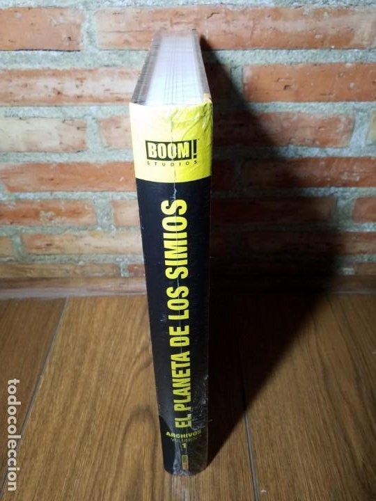 Cómics: EL PLANETA DE LOS SIMIOS 1 MARVEL LIMITED EDITION IMPECABLE SIN ABRIR - Foto 2 - 218790112
