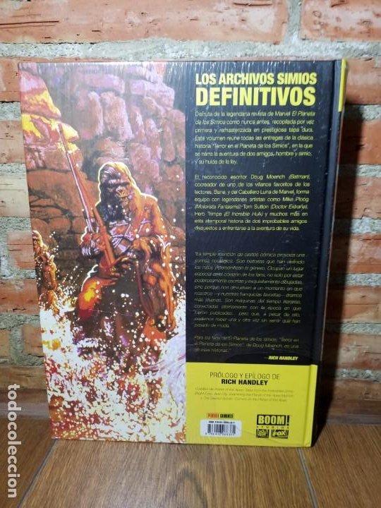 Cómics: EL PLANETA DE LOS SIMIOS 1 MARVEL LIMITED EDITION IMPECABLE SIN ABRIR - Foto 3 - 218790112