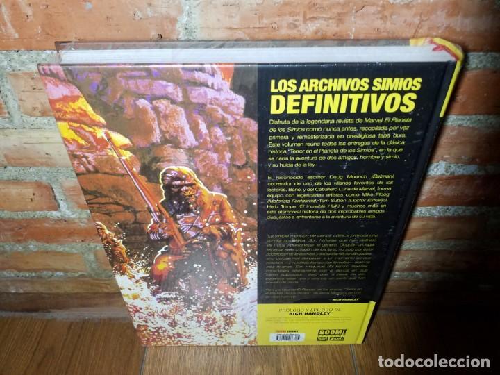 Cómics: EL PLANETA DE LOS SIMIOS 1 MARVEL LIMITED EDITION IMPECABLE SIN ABRIR - Foto 4 - 218790112