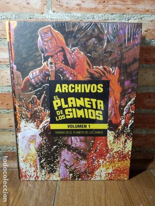 Cómics: EL PLANETA DE LOS SIMIOS 1 MARVEL LIMITED EDITION IMPECABLE SIN ABRIR - Foto 6 - 218790112