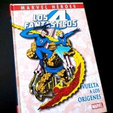 Cómics: MUY BUEN ESTADO LOS 4 FANTASTICOS VUELTA A LOS ORIGENES MARVEL HEROES PANINI. Lote 219167350