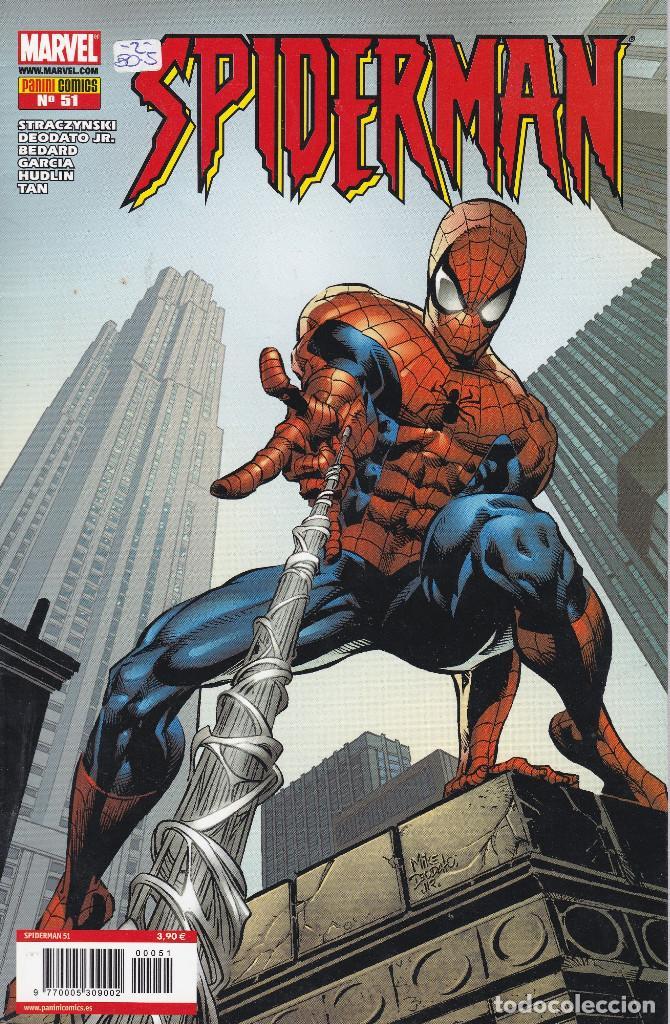 SPIDERMAN AÑO 2 Nº 51 LOMO AZUL PANINI 2006 (Tebeos y Comics - Panini - Marvel Comic)