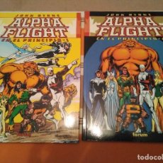 Comics : ALPHA FLIGHT EN EL PRINCIPIO 1 Y 2 - COMIC MARVEL. Lote 219336297