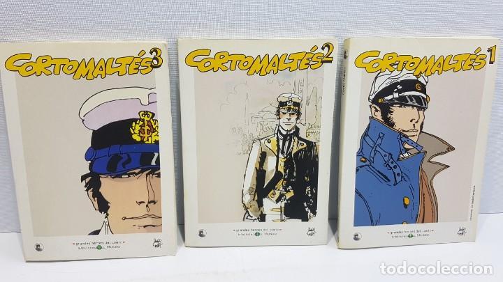 GRANDES HÉROES DEL CÓMIC 20,21,22 CORTO MALTES (Tebeos y Comics - Panini - Marvel Comic)