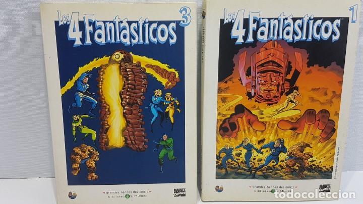 GRANDES HÉROES DEL CÓMIC 37,37 LOS 4 FANTASTICOS (Tebeos y Comics - Panini - Marvel Comic)