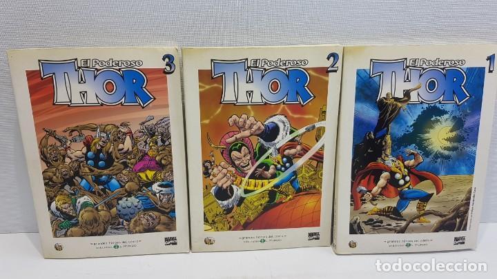 GRANDES HÉROES DEL CÓMIC 41,42,43 EL PODEROSO THOR (Tebeos y Comics - Panini - Marvel Comic)