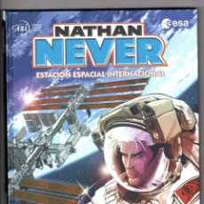 Cómics: NATHAN NEVER : ESTACIÓN ESPACIAL INTERNACIONAL - PANINI / BONELLI / COMIC EUROPEO / TAPA DURA. Lote 219477051